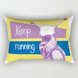 Not that slug... Rectangular Pillow