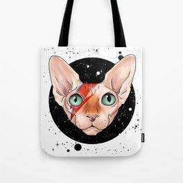 Sphynx Bowie Tote Bag