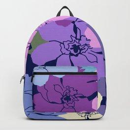 Blue Poppy Toss Backpack