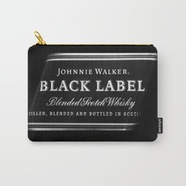 black label 1 Carry-All Pouch