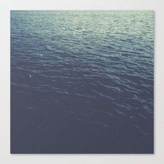 On the Sea Canvas Print