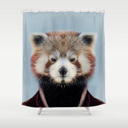 Fashion raccoon Shower Curtain