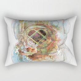 Deep Diver Suit Rectangular Pillow