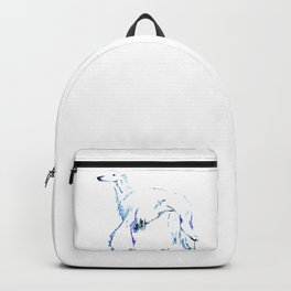 For the Love of Borzoi Backpack