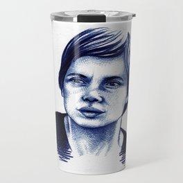 Isabella Rossellini Travel Mug