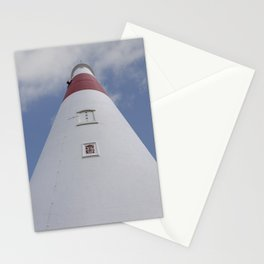 Looking up at Portland Bill Stationery Cards