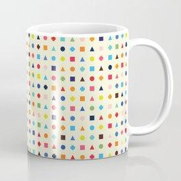 Dot Triangle Square Plus Repeat Coffee Mug