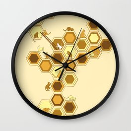Queen of the Catacombs Wall Clock