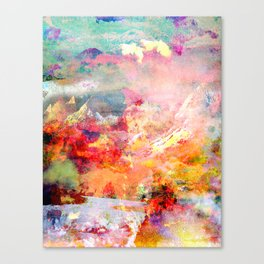 Mountains Canvas Print