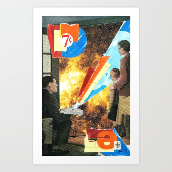 In the Waiting Room Art Print