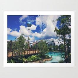 The Springs Art Print