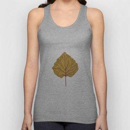 Goldenberry leaf Unisex Tank Top