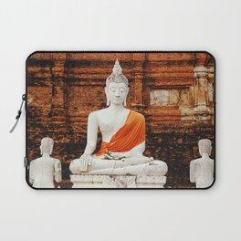Buddha statue; Thailand, Ayutthaya kingdom Laptop Sleeve