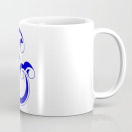Blue Ampersand Coffee Mug