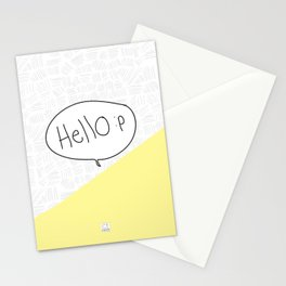 Hello :p Stationery Cards