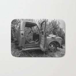 Old Chevy Truck II Bath Mat