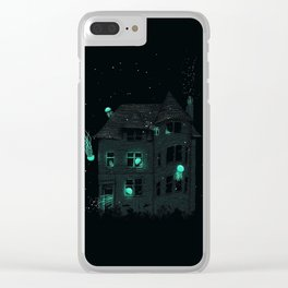 House of Jellyfish Clear iPhone Case