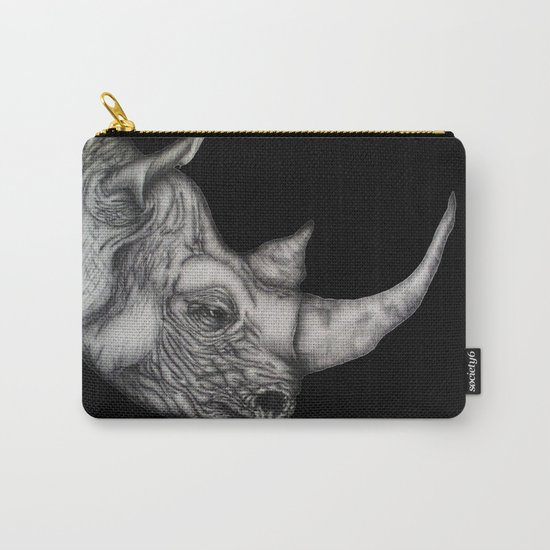 Roy in Black Carry-All Pouch