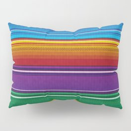 Mexican serape #3 Pillow Sham