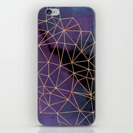 Ultraviolet Storm iPhone Skin