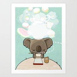 Hungry Dream Art Print