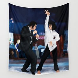 Pulp fiction Twist Wall Tapestry