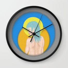 untitled once again Wall Clock