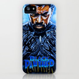 Black Panther Merchandise iPhone Case