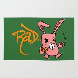 Rad Bunny Rug