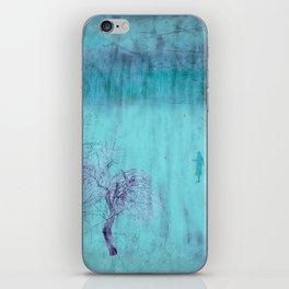 Walking ~ Abstract Shiraz series iPhone Skin