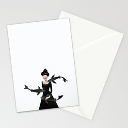 News from afar Stationery Cards