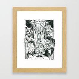 The Overlook Residents Framed Art Print