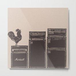 ATOMIC ROOSTER Metal Print