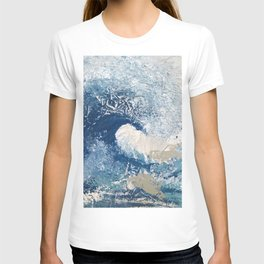 The Great Wave Abstract Ocean T-shirt