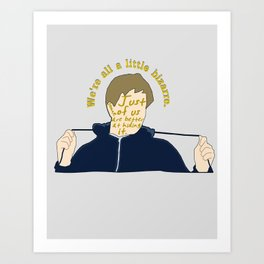 The Breakfast Club - Andrew Art Print