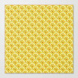 Lemons are watching you! – Strange Fruits Canvas Print