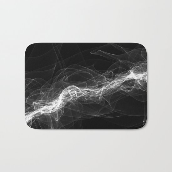 Smoke White Bath Mat