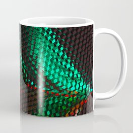 Floral Honeycomb Tulip Coffee Mug