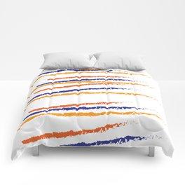 color blue orange Comforters