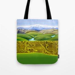 The Lie of the Land: Tararua Tote Bag