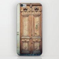 doors iPhone & iPod Skins featuring Doors by Nevena Kozekova