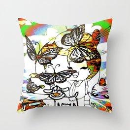 Cabsin16DesignerPatternCCB Throw Pillow