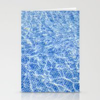 swimming Stationery Cards featuring Swimming by Sébastien BOUVIER