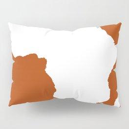 Rust Red Audacious Africa Pillow Sham