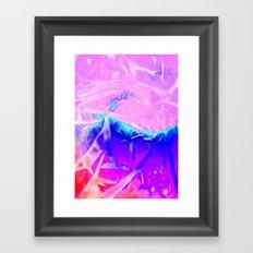 Aurora 3 - Ultraviolet Framed Art Print