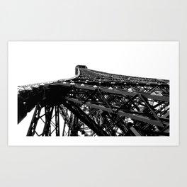 Point of View: B&W Paris Collection #2 Art Print