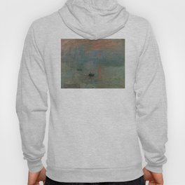 Claude Monet - Impression, Sunrise Hoody
