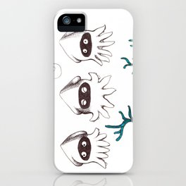 Blooper Trio  iPhone Case