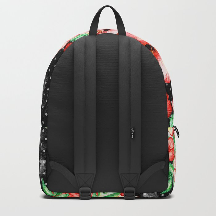 Colorful Hibiscus Backpack