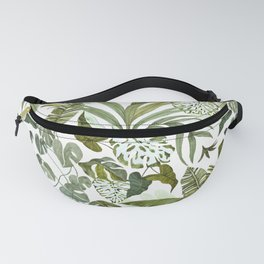 Wild botany in the jungle Fanny Pack
